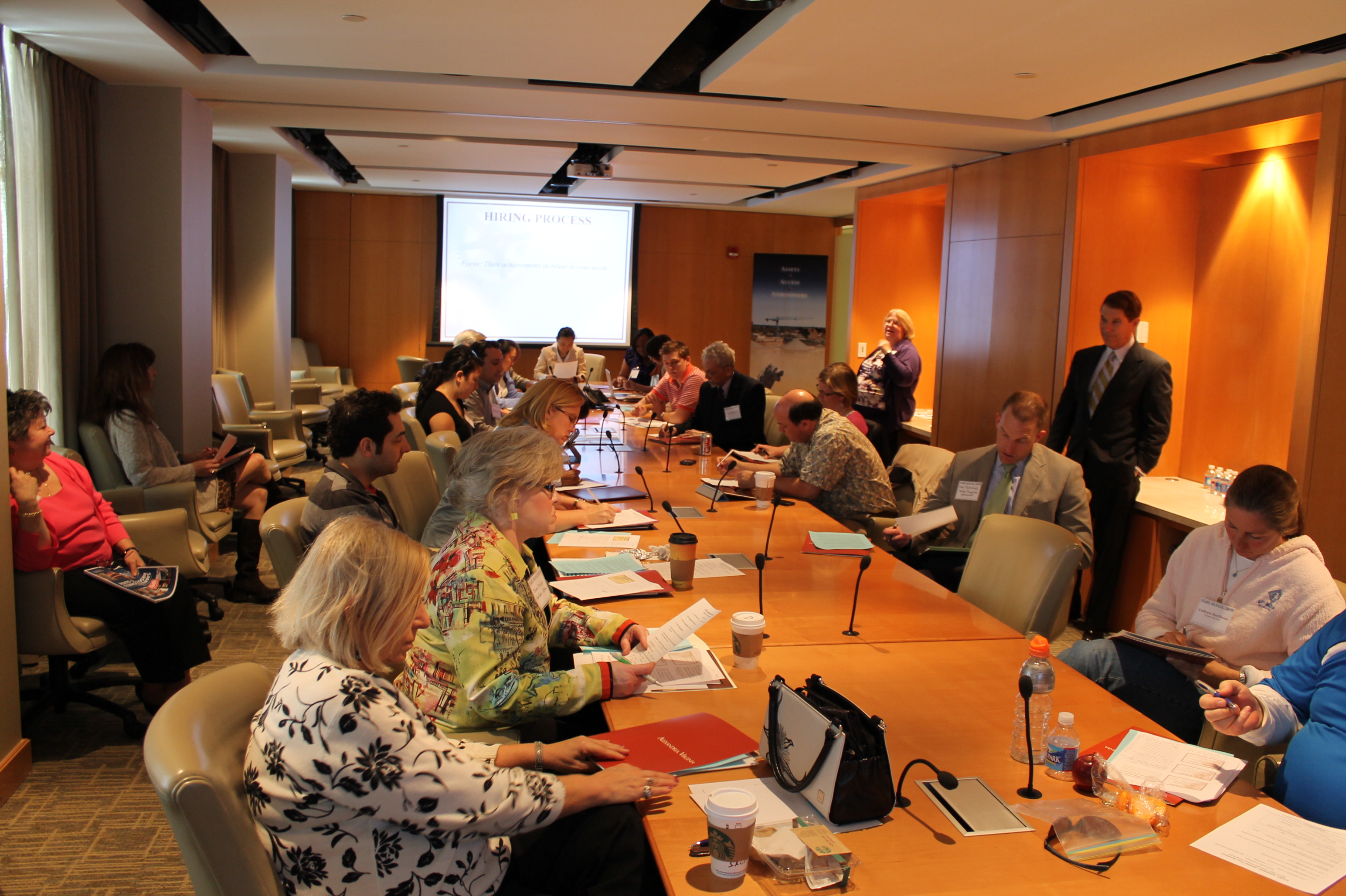 Attendees of Small Business Hiring Workshop at the Alexandria Virginia SBDC