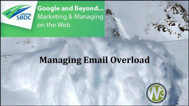 Managing Email Overload